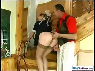 Chubby Redhead Housekeeping..
