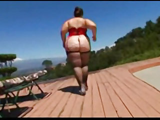 Huge Ass On BBW Veronica..
