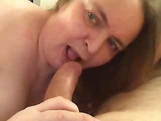 Obese wife receives ahole..