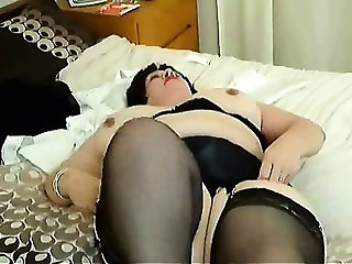 Slow Strip on bed