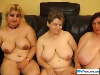 BBW mature sluts with boy
