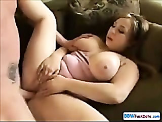 Sleeping BBW Teen Screwed Hard