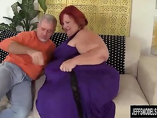 Huge BBW Sweet Cheeks Has a..