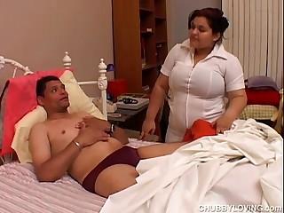 Super sexy big tits BBW is a..