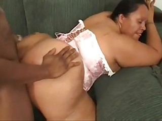 Mexican bbw fucked by black..