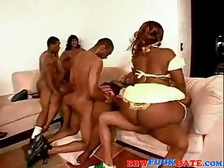 Afro American BBW Massive..