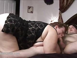 Fat Wife Carla Sucks Cock..