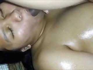 Indian BBW masturbating and..