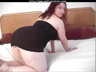 bbw Latina gets anal
