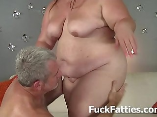 Jiggly Belly And Huge Fat..