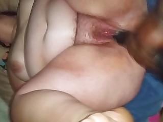 mature bbw woman enjoying..
