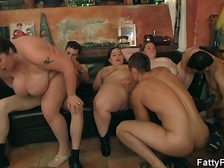 BBW rides cock after hot..