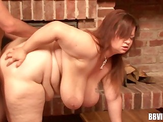 Busty bbw german whore eat..