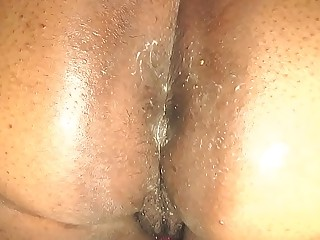 Rough Anal Creampie For BBW