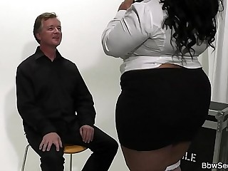 He licks and fucks huge..