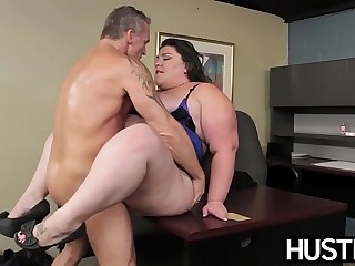 BBW goddess Bella Bendz bent..