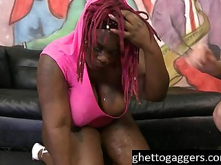 Ebony BBW Marley XXX Gets..