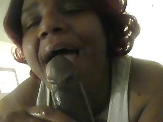 BBW slut Betty sucking my soul