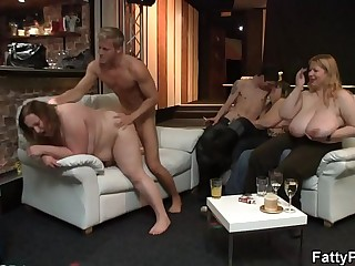 Wild bbw getting fucked and..
