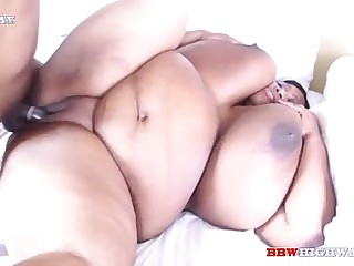 Huge busty bbw cotton candi..