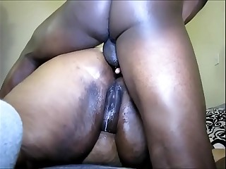 Ebony BBW gets an Anal..
