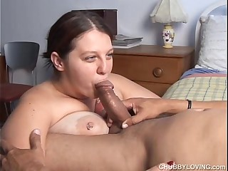 Big tits BBW loves to suck..