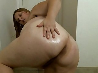 Dildo Tease and Strip BBW..