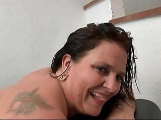 BBW French slut hard her big..