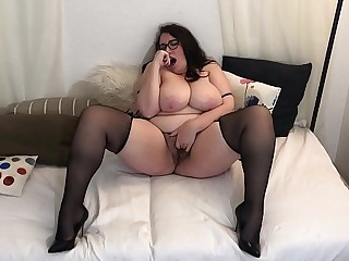 Sexy Busty BBW in Heels and..