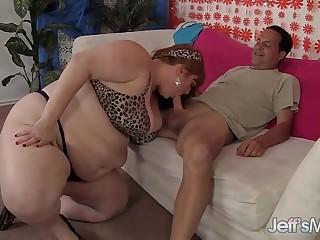 Horny Redhead BBW Julie Ann..