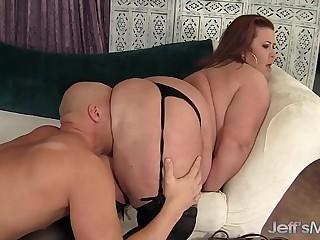 Big boobed mature BBW Lady..