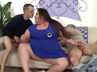 Fatty gets her fat ass..