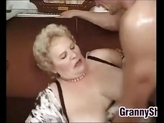 Fat And Busty Granny..