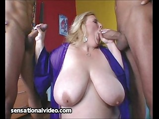 Fat Housewife Fucks 2 Big..