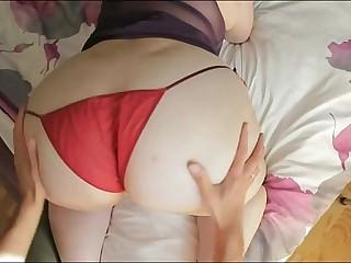 chubby fat big butt wife