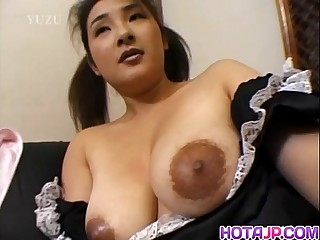 Hot milf gets nasty on a fat..