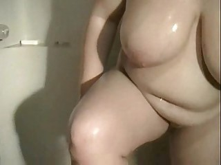 Horny Fat BBW GF showing her..