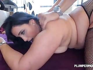 Sexy Plump Latina Bangs the..