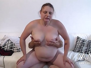 MMV FILMS Horny Fat German..