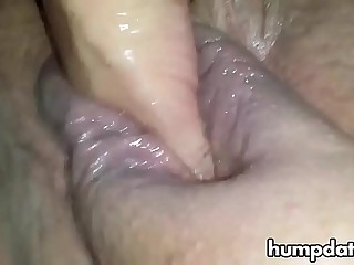 Big fat pussy gets fisted