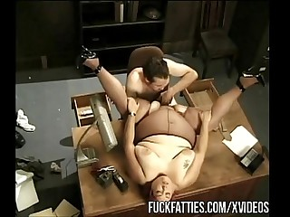 Fat Secretary Fucks Boss On..