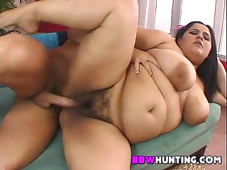 HUge fat hairy pussy fucked