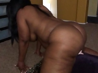 Ebony with fat ass fucks..