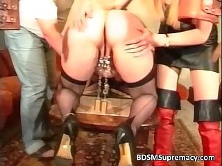 Fat mature slut loves BDSM..