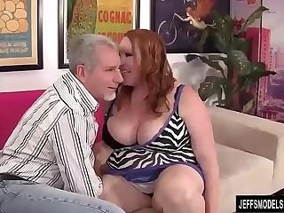 Chubby Redhead Annabel Redd..
