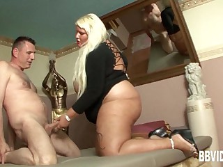 Horny german hoe gets fat..