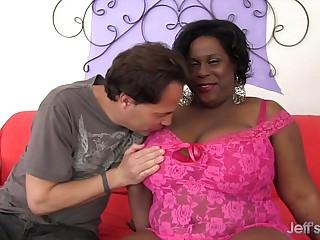 Sexy ebony Marlise Morgan..