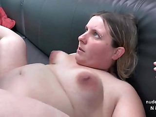 Casting couch of a fat bbw..