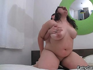 Fat pussy banging after sexy..