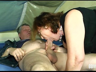 Slutty German milf suck a..